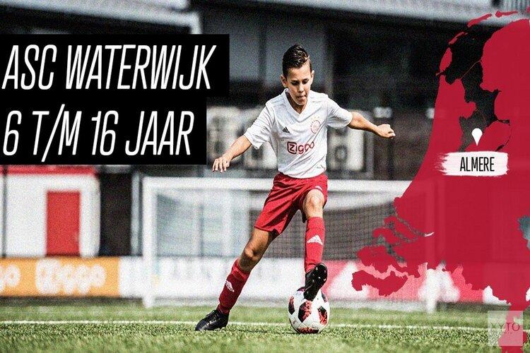 Train een dag als Frenkie de Jong. Ajax Clinic bij ASC Waterwijk