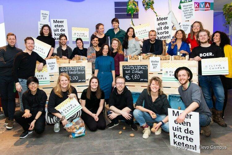 Manifest 'Meer eten uit de korte keten!' gepresenteerd tijdens de Floriade Dialogues Summit