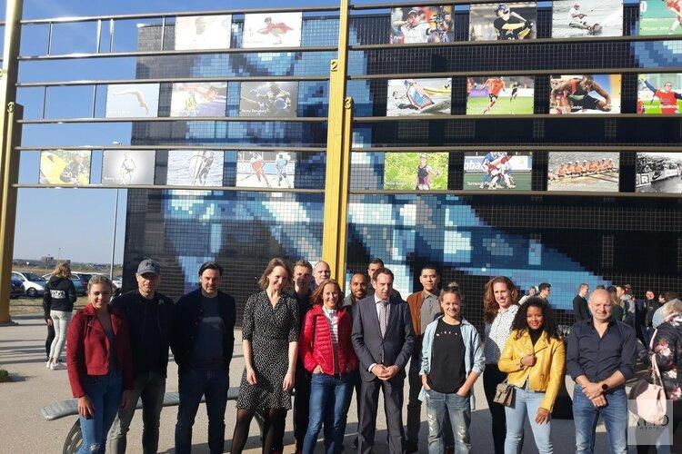 Almere eert sporters met Wall of Fame