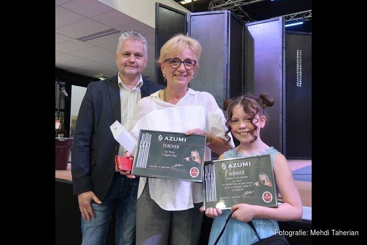 Meisje 10 uit Almere Haven wint internationaal dwarsfluitconcours