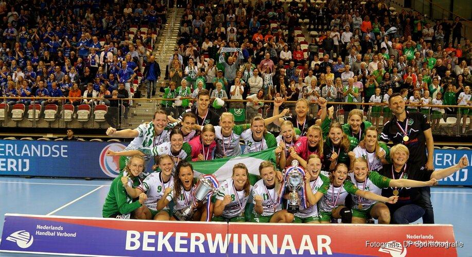Quintus en Volendam winnen nationale handbalbeker