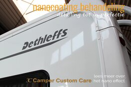 Nanocoating behandeling bij 3C Camper Custom Care