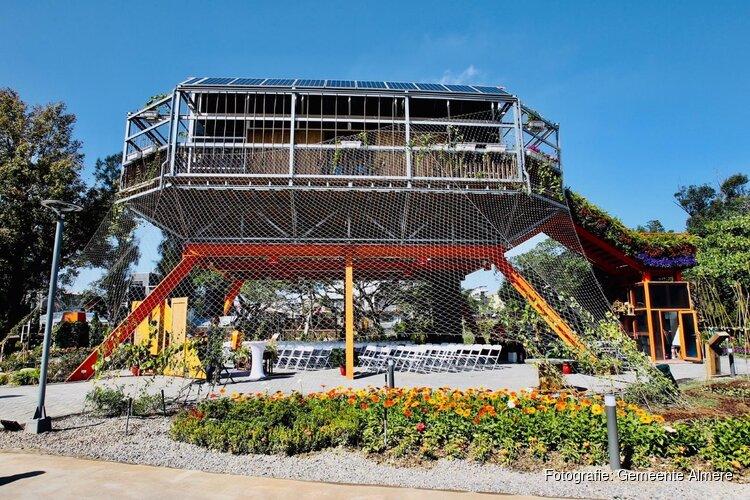 Almere wint prijs met circulair gebouw op World Flora Expo in Taiwan