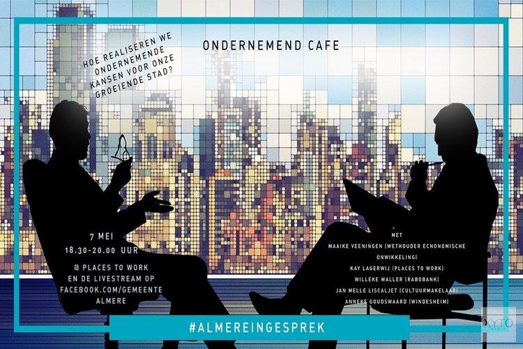 Ondernemend Café ook live te volgen via Facebook