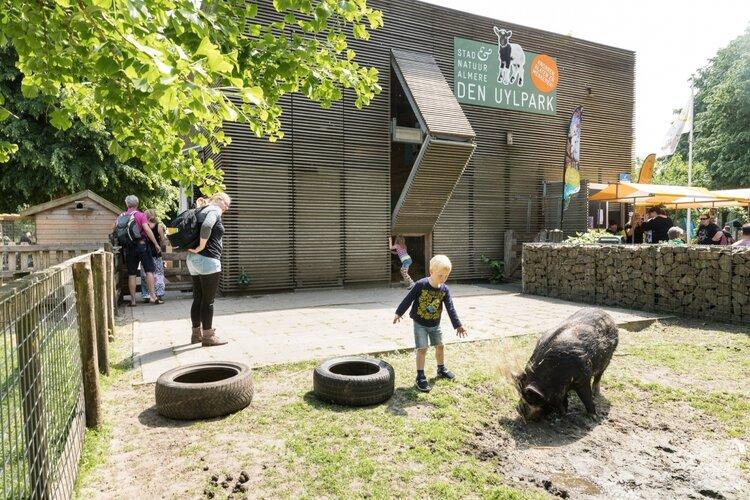 Lentefeest op Kinderboerderij Den Uylpark