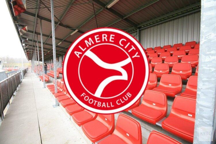 Almere City FC komt snelle achterstand niet te boven
