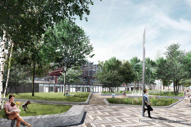 Groen licht in zicht voor vernieuwing station Almere Centrum