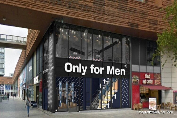Only for Men opent winkel in Almere Centrum