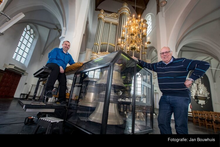 Concert van orgel en mobiel carillon op zaterdagmiddag 24 augustus