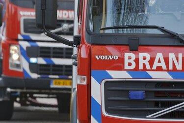 Bermbrand langs A6 zorgt voor oponthoud