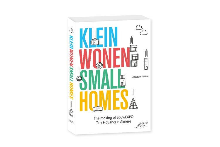 Op 4 september verschijnt: klein wonen - small homes