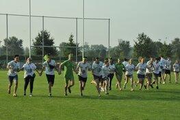 Studenten kunnen al vroeg het rugbyveld op