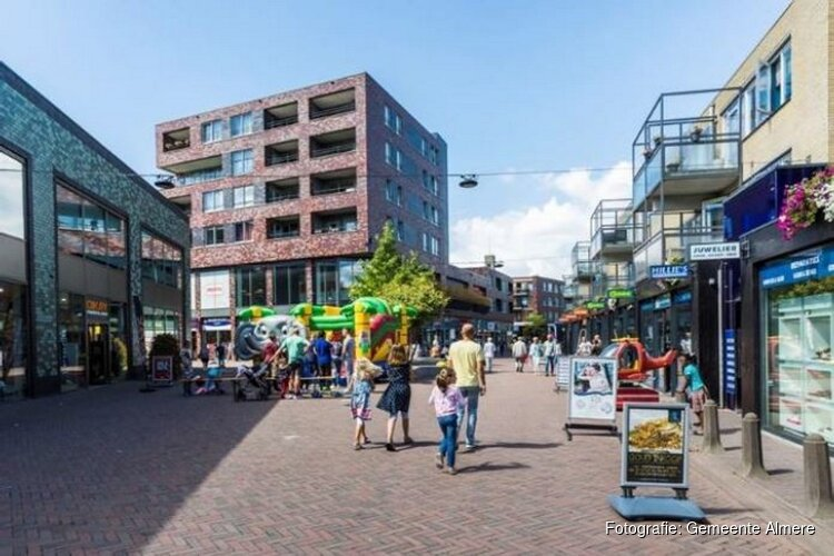 Stadsvernieuwing Centrum Almere Buiten