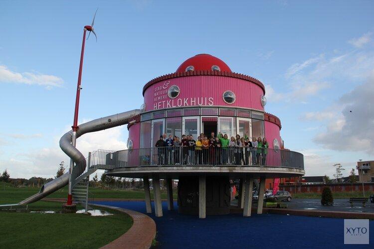 Aftrap Energy Challenge Flevoland in Klokhuis