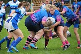 Dames rugby in het teken van Pink Ribbon