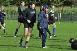 Unieke Zuid Afrikaanse training voor Rugby Club Bulldogs