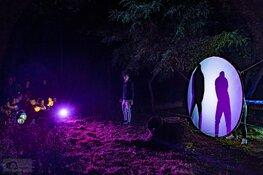 1100 bezoekers kijken omhoog tijdens de nacht van de nacht