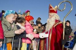 Aankomst Sinterklaas en Sintparade in Almere Centrum