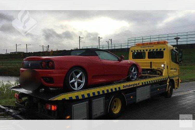 Politie legt beslag op woning en Ferrari in witwasonderzoek