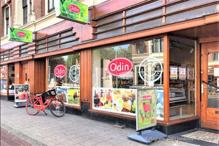 Eerste paal biologische boerderijwinkel Odin op Stadsboerderij Vliervelden op 16 december