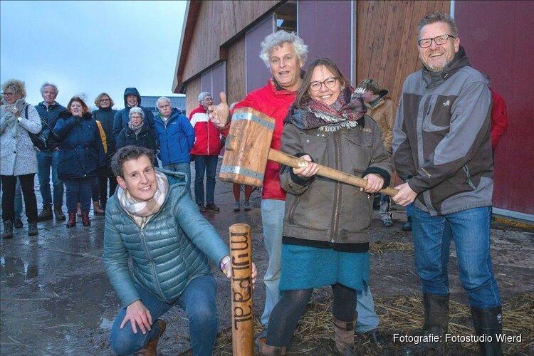 Start bouw 1e biologische boederijwinkel Odin bij Stadsboerderij Vliervelden, Almere