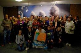 Vrijwilligers Stad & Natuur ontvangen Growing Green speld