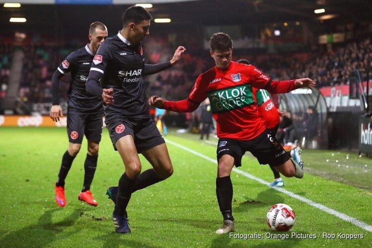 Historische overwinning Almere City FC in 'De Bloedkuul'