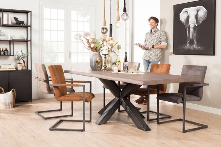 Ruime collectie eetkamerstoelen met armleuning | De Bommel