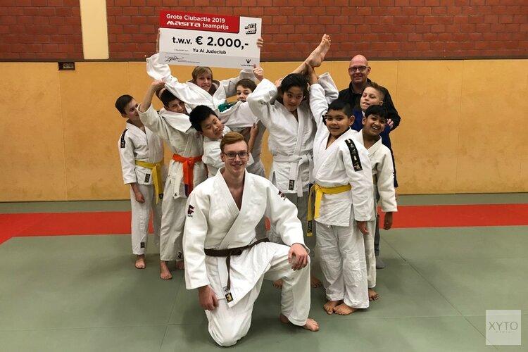 Flynn van Yu-Ai Judoclub wint prijs voor zijn hele team