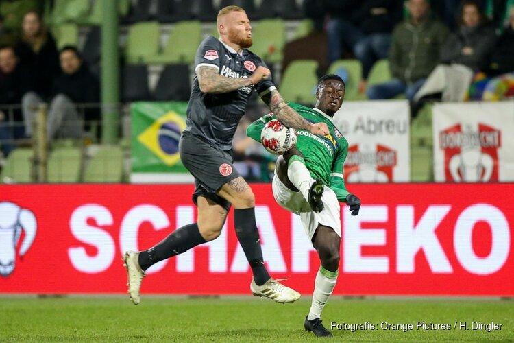 Verheydt schiet Almere City FC langs FC Dordrecht