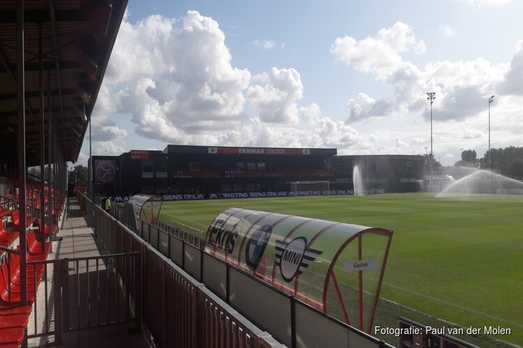 Jong Almere City pakt punt tegen ODIN'59 in leuke pot voetbal