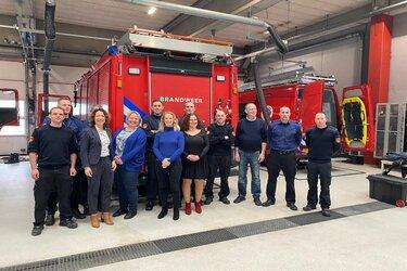 D66 hartverwarmend ontvangen door Brandweer Almere