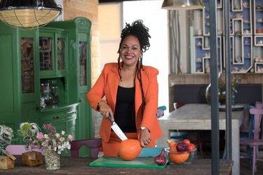 Tv-kok Sharon de Miranda probeert een maand vegan