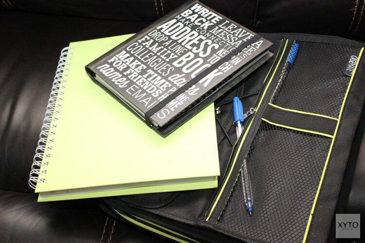 Steeds minder vaak sjouwen met schoolboeken