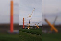 Start afbraak windmolens Jaap Roodenburg