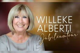 Een oeuvreprijs en jubileumtour: Willeke Alberti viert het in KAF