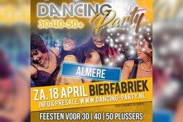 30+ | 40+ | 50+ Dancing Party - Dansfeest - Almere (18 april 2020)
