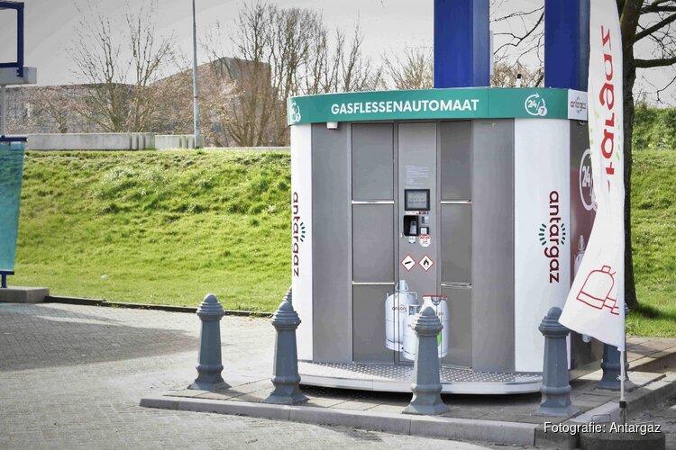 Primeur: energiebedrijf Antargaz lanceert gasflessenautomaten