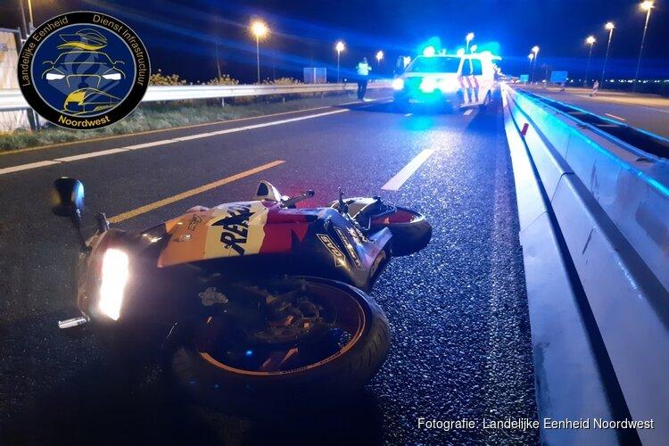 Twee ongevallen in één nacht op de A6