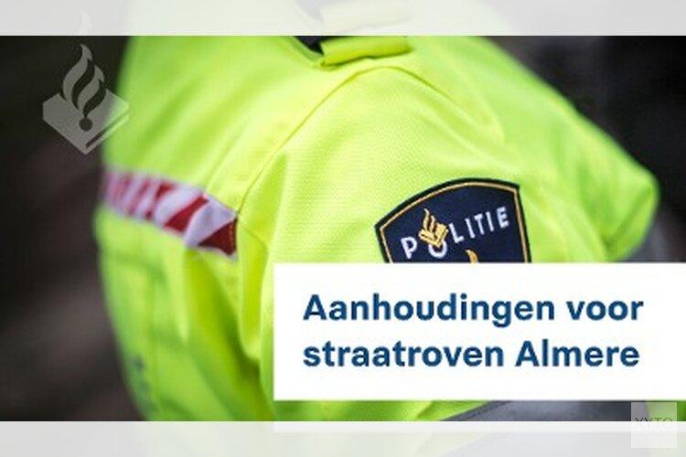 22 aanhoudingen voor straatroven Almere