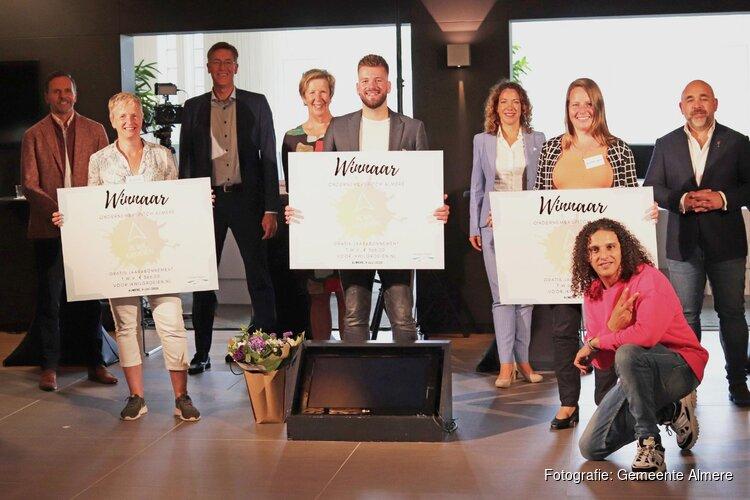 Drie winnaars Almeerse Ondernemerspitch 1,5 meter-economieHeader