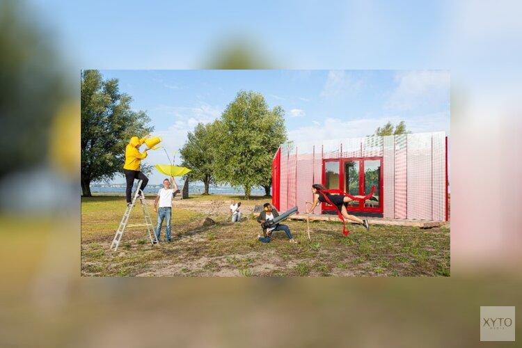 StrandLAB Almere opent circulair atelier  op het Almeerderstrand