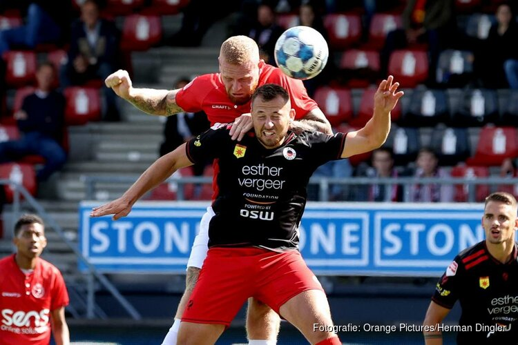 Knotsgekke doelpuntenshow bij Excelsior-Almere City FC (4-6)
