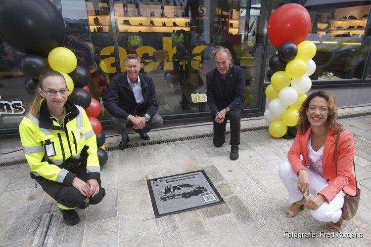 Onthulling 46ste tegel Walk of Fame op de Citadel in Almere Centrum