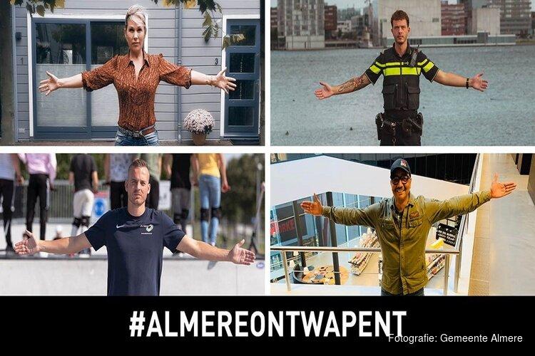 Almere lanceert campagne #AlmereOntwapent