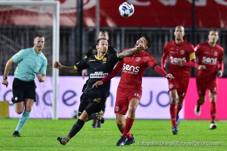 Almere City FC zet zegereeks voort tegen Roda JC