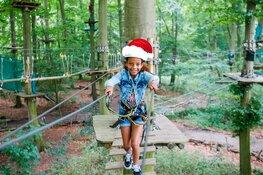 Kerst vieren in het Klimbos van Fun Forest