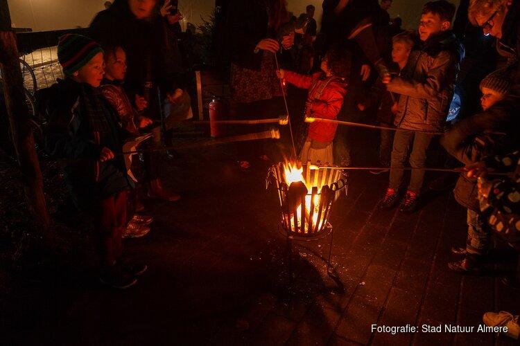 Kerstfeest op Kinderboerderij den Uylpark