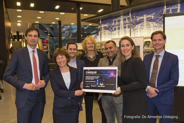 De Almeerse Uitdaging feestelijk van start met 400 entreekaarten Vis-a-Vis