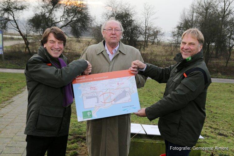 Gemeente Almere en Staatsbosbeheer ruilen Kromslootpark en Almeerderstrand